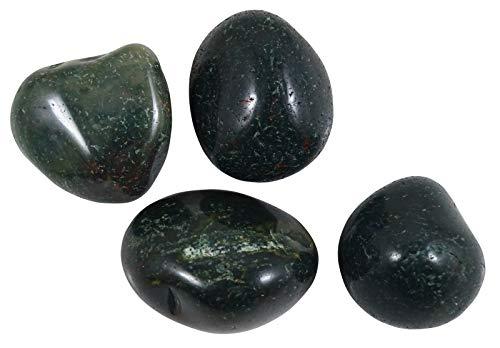 HARMONIZE Pack de 4 piezas de Piedra tamboleado Naturel Sangre curativo de Las Piedras