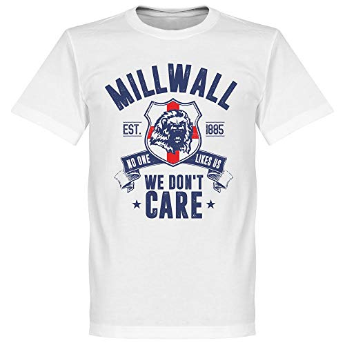 Millwall We Don't Care T-Shirt - weiß - M