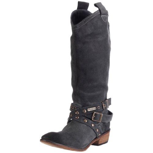 Pepe Jeans London MESSY Damen Stiefel MSS-131 Grau/Grey Cowboy Hi Boot