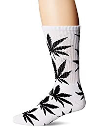 PlantLife Crew Chaussettes à cheval Sock – White