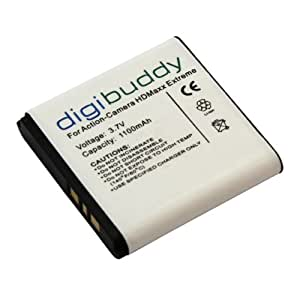 Batterie pour Camsports HDMax Extreme Li-Ion - digibuddy