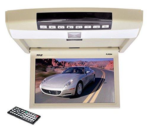 Pyle B009CQP940 23,8 cm (9,4 Zoll) Flip Deckenmonitor Multimedia-Disc-Player mit Wireless-FM-Modulator/IR-Transmitter