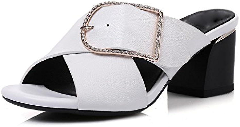 sandales d été des les femmes dans les des chaussures boucle de ceinture  ronde avec une épaisseur avec des sandales femmes...B072HR9GVHParent 8e2b5a 096b45681ba6