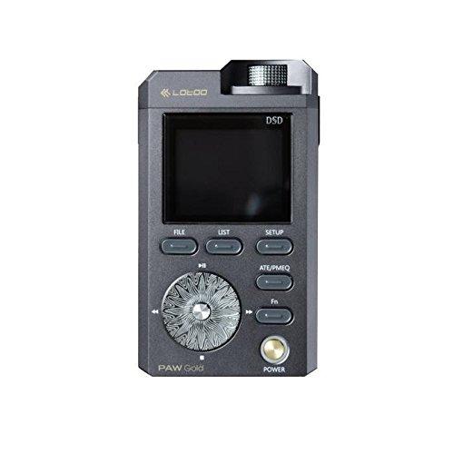 lotoo Paw Gold Audio-Player Kompatibel mit MP3/ISO/DSF/Flac/WAV/WMA/ALAC/OGG/Cue/WPA/DSD grau