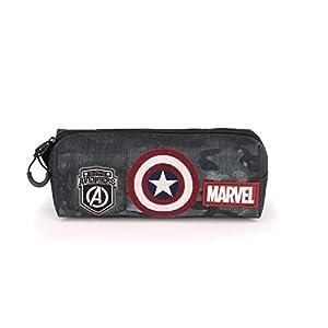 Karactermania Captain America Army-astuccio Portatutto Quadrato HS Estuches 22 Centimeters Multicolor (Multicolour)