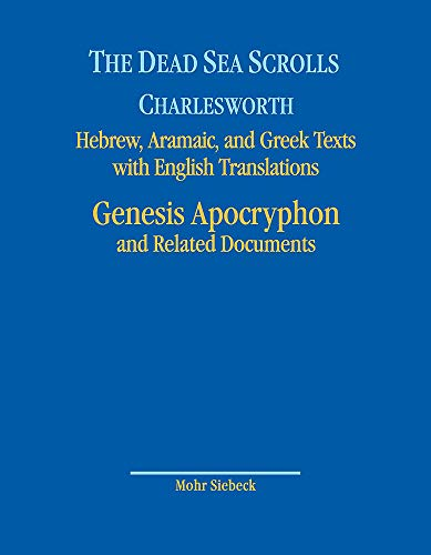 The Dead Sea Scrolls. Hebrew, Aramaic, and Greek Texts with English Translations: Volume 8A: Genesis Apocryphon and Related Documents