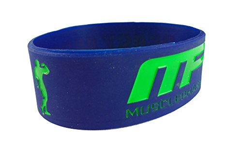 eshoppee mp beast mode wrist band bracelet for man and women (1 pcs, Blue)  available at amazon for Rs.109