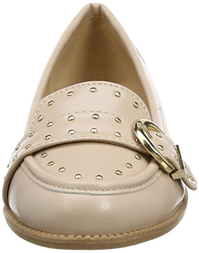 Dorothy Perkins Large Buckle, Mocassins femme Rose (Pêche)