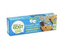 Good Goût Kidz - BIO - Biscuits Chocolat Sésame Tournesol dès 3 Ans 110 g