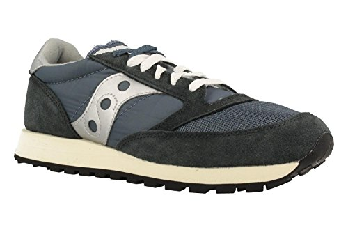 Scarpa Jazz O Vintage Saucony F71 Blue/Navy/Silver, n.42,5 MainApps