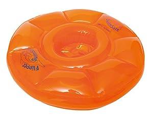 Flipper SwimSafe 1040 - Asiento de natación para bebés con cámaras de Aire 3, Naranja 12 Meses,
