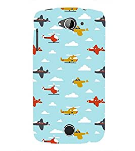 EPICCASE Planes and Choppers Mobile Back Case Cover For Acer Liquid Z530 (Designer Case)