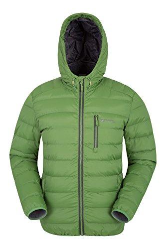 Mountain Warehouse Link Gepolsterte Herrenjacke mantel sportliche steppjacke mantel Grün