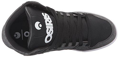 Chaussure Osiris Clone Noir-Work Black/textile/black