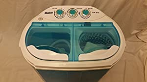 TWIN PORTABLE 230V 3.6KG WASHING MACHINE FOR FLATS HOME SMALL KITCHEN SPIN DRYER