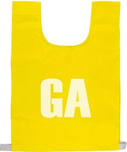 Netzball Team-ausrüstung Buchstaben Weste Praxis & Training Lätzhosen Einheitsgröße Satz Von 7 - Gelb, One Size