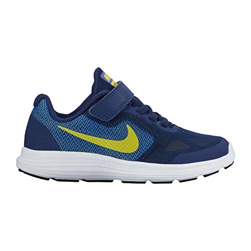 Nike Revolution 3 Psv, Sneakers Mixte Enfant Bleu