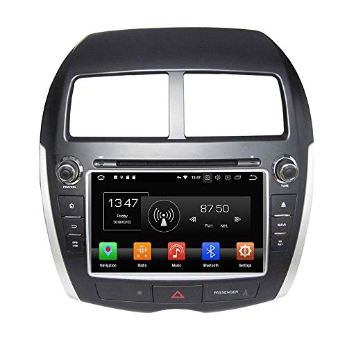 ASX Android 8 Autoradio Navi Touchscreen DVD Bluetooth USB WiFi SD ()