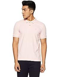 Arrow Men's Solid Regular Fit T-Shirt