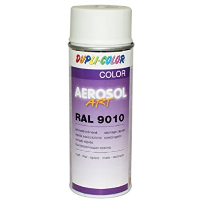 Dupli-Color 741548 Aerosol Art Ral 9010, 400 ml, matt von DUPLI-COLOR auf TapetenShop