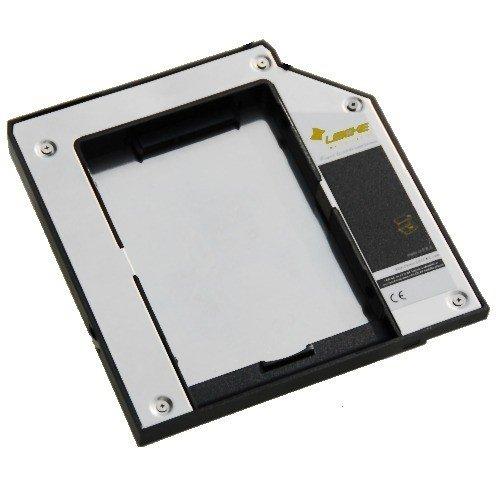 LEICKE SATA 2.HDD/SSD Ultrabay Slim Adapter für IBM Thinkpad T40, T40p, T41, T41p, T42, T42p, T43, T43p, T60, T60p, T61, T61p, X4 UltraBase, X4 Dock, X6 UltraBase, X6 Tablet UltraBase, X60, X60s, X60t, X61 mit LEICKE Hyperspeed Technologie