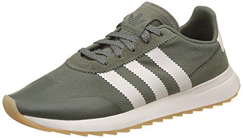 adidas Damen FLB Sneaker Grün Oliv/weiß, 40 2/3 EU