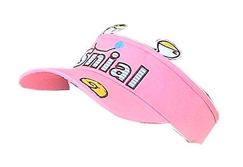 Preisvergleich Produktbild Kinder Sonnenschutz Hut Lovely Sommer Mütze ohne Top 2-4 Jahre (Pink)