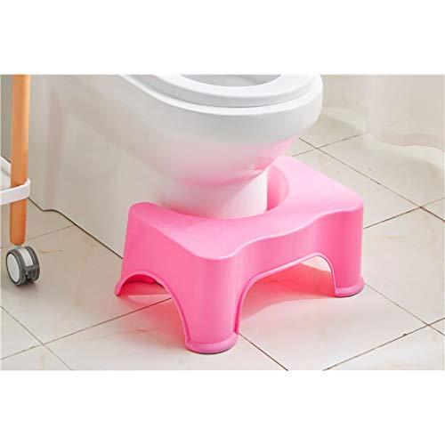 WC de bain Tabourets Le tabouret de toilette familial parfait Utilisation polyvalente comme escabeau d'enfant (Couleur : B)