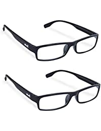 Freddy Full Rim reading glasses for Men and women 2 pcs combo (+2.00)