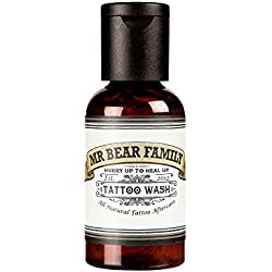 Mr Bear Family Jabón para Pella tatuada-62ML