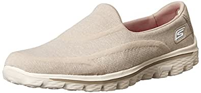 skechers damen go walk 2 super sock sneakers. Black Bedroom Furniture Sets. Home Design Ideas