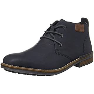 Rieker Herren B1340 Desert Boots, Blau (Ozean/Mogano 14), 43 EU