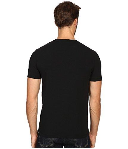 Dolce&Gabbana Underwear Herren T-Shirt Deep V-Neck, Stretch S-XL - Farbauswahl Schwarz