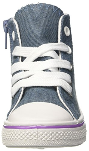 Soy Luna Canvas Hi, baskets montantes fille Blu (Denim)
