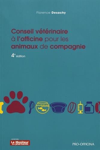 Conseil vtrinaire  l'officine pour les animaux de compagnie