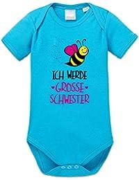 Ich werde grosse Schwester Baby Strampler by Shirtcity