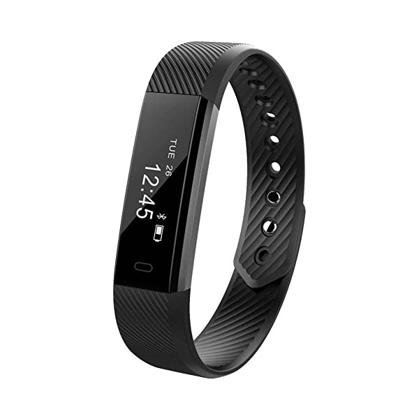 E Db Fitness Tracker Heart Rate Monitor Tracker Smart Bracelet Activity Tracker Bluetooth Pedometer Sleep Monitor Smartwatch IPhone Samsung Other Android IOS Smartphones Adults Kids