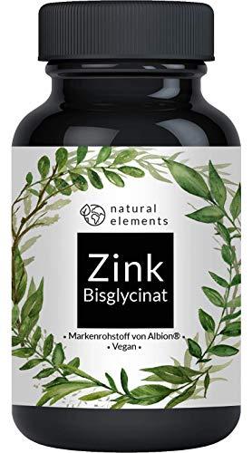 Zink 25mg - 365 Tabletten - Premium: Zink-Bisglycinat (Zink-Chelat) von Albion® - Mehrfacher Sieger 2018/2019* - Laborgeprüft, hochdosiert und hergestellt in Deutschland