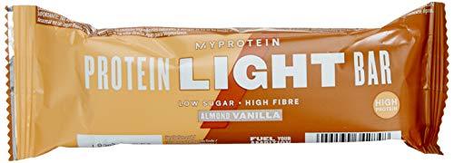 My Protein MyBar Zero Protein Bar, 65 g, Almond Vanilla, Pack of 12