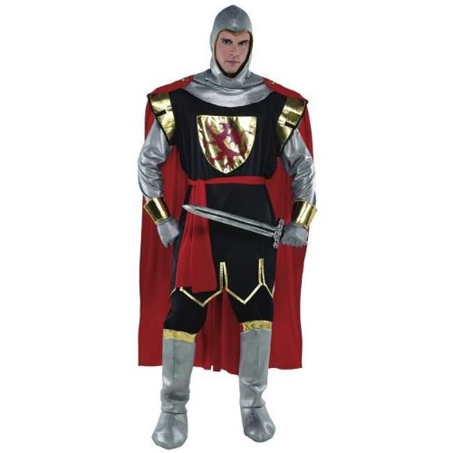 Fancy Knight Kostüme Dress (Christy`s Brave Crusader Knight Adult Standard Fancy Dress)
