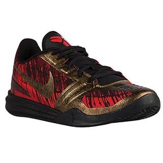 NIKE Men's Kb Mentality Blk/MTLC AGD Cn/Chillng Rd/Tm R Basketball Shoe 10 Men US