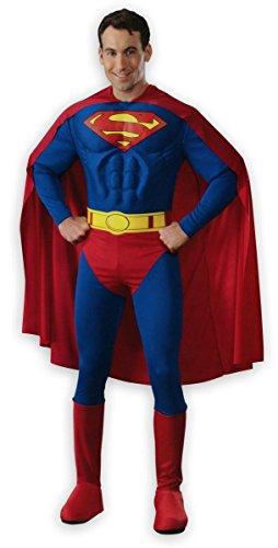 Superman Deluxe Muskel-Kostüm für Erwachsene - Smallville Superman Kostüm