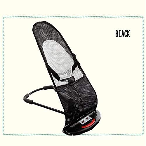 Kinderstuhl Sitz Tragbare Fütterung Neugeborene Kleinkind Baby Sitz Sessel Sommernest Kindersofa Karierter Kinderstuhl schwarz Sommer