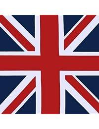 Foulard bandana UK drapeau anglais United Kingdom - 52 cm x 52 cm - Moto biker vintage tendance