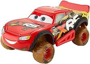 Disney Cars - Vehículo XRS Rayo McQueen, coches de juguetes niños +3 años (Mattel GBJ36)