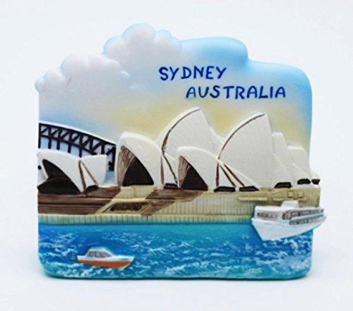 SydneyOperaHouseAustraliaOZresinaresina3Dgiocattolofrigoriferomagnete