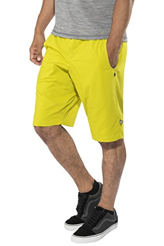 E9 Hip - Shorts Homme - Jaune Modèle XL 2018