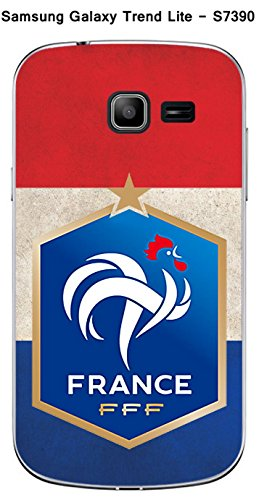 Coque Samsung Galaxy Trend Lite S7390 design Foot France fond drapeau