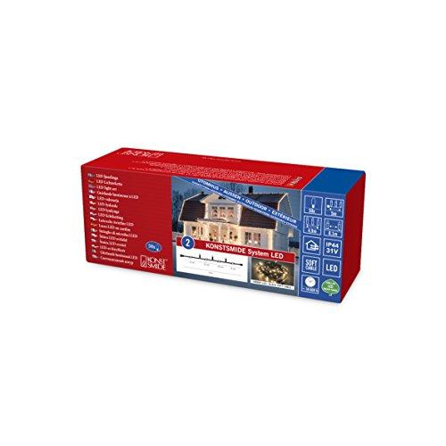 Konstsmide 4850-807 Extension pour Système LED, Plastique, 1 W, Multicolore, 500 x 1 x 25 cm