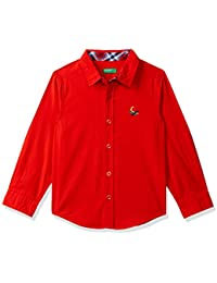 United Colors of Benetton Boy's Regular fit Shirt